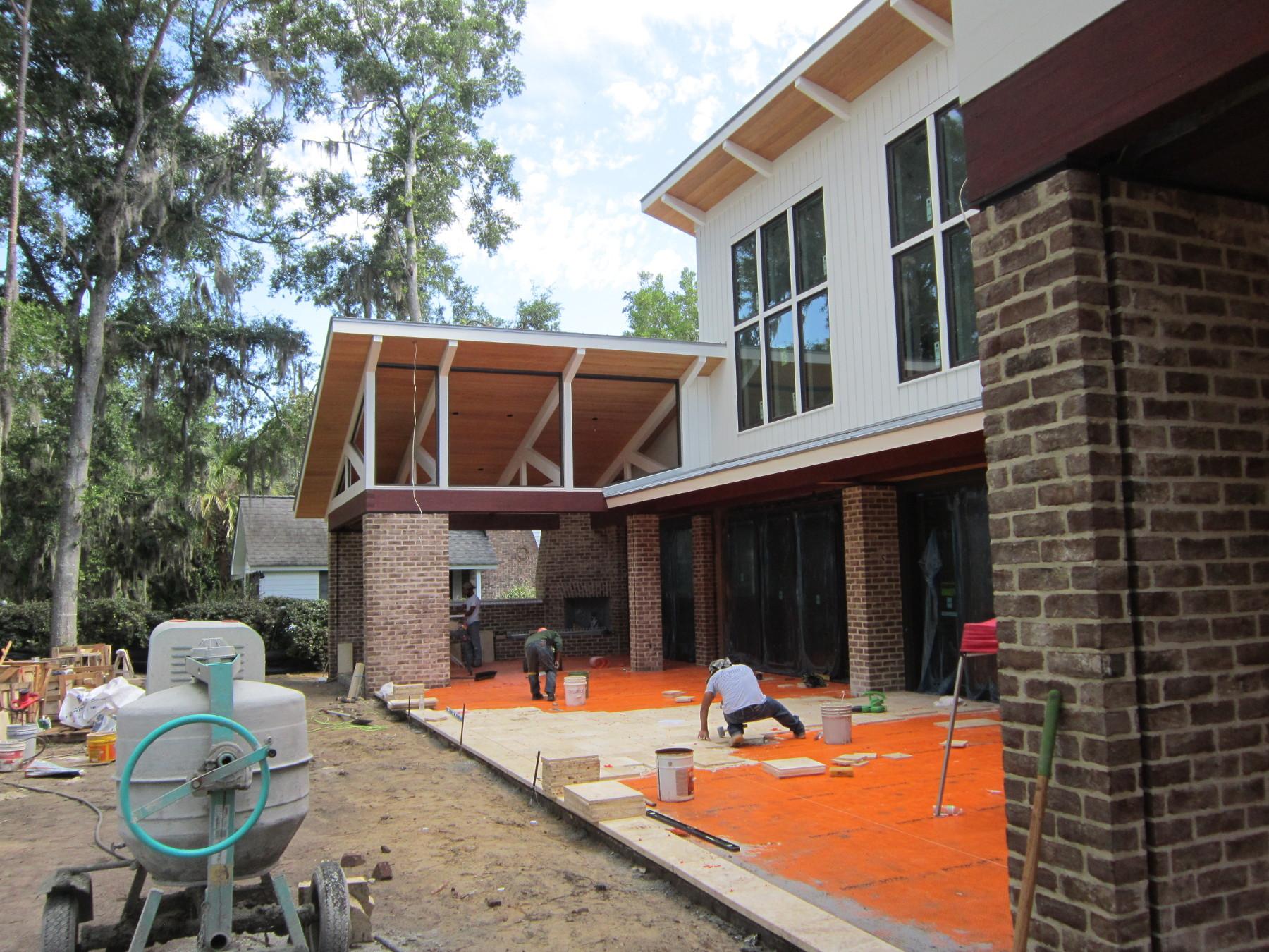 custom homes in progress howell builders custom home builders
